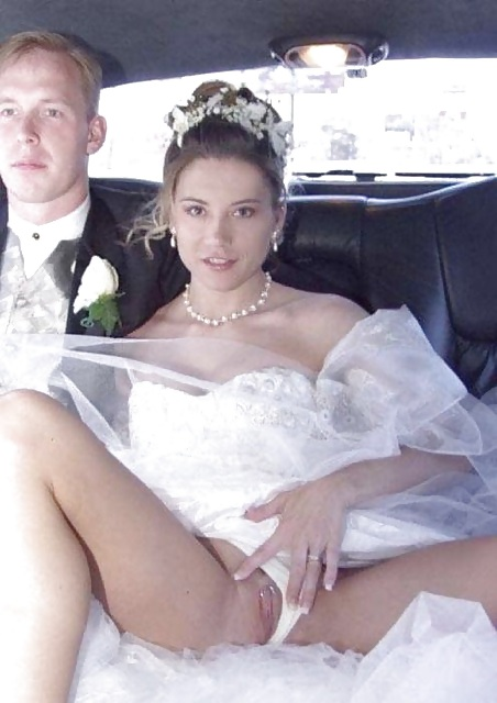 Bride S Upskirt Shot